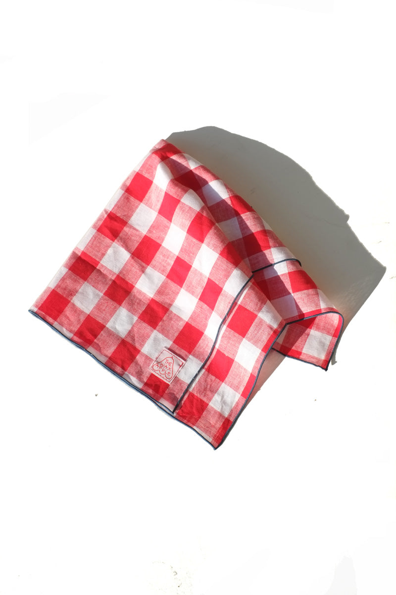 Handkerchief - red checkered