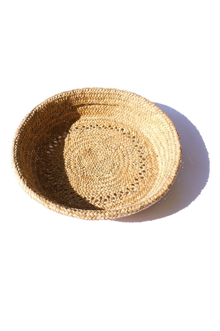 rush grass basket