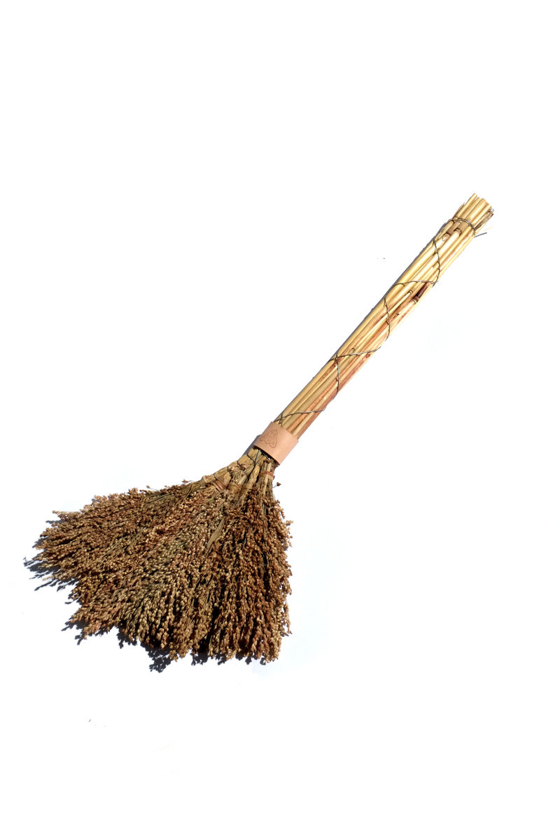sorghum broom - large
