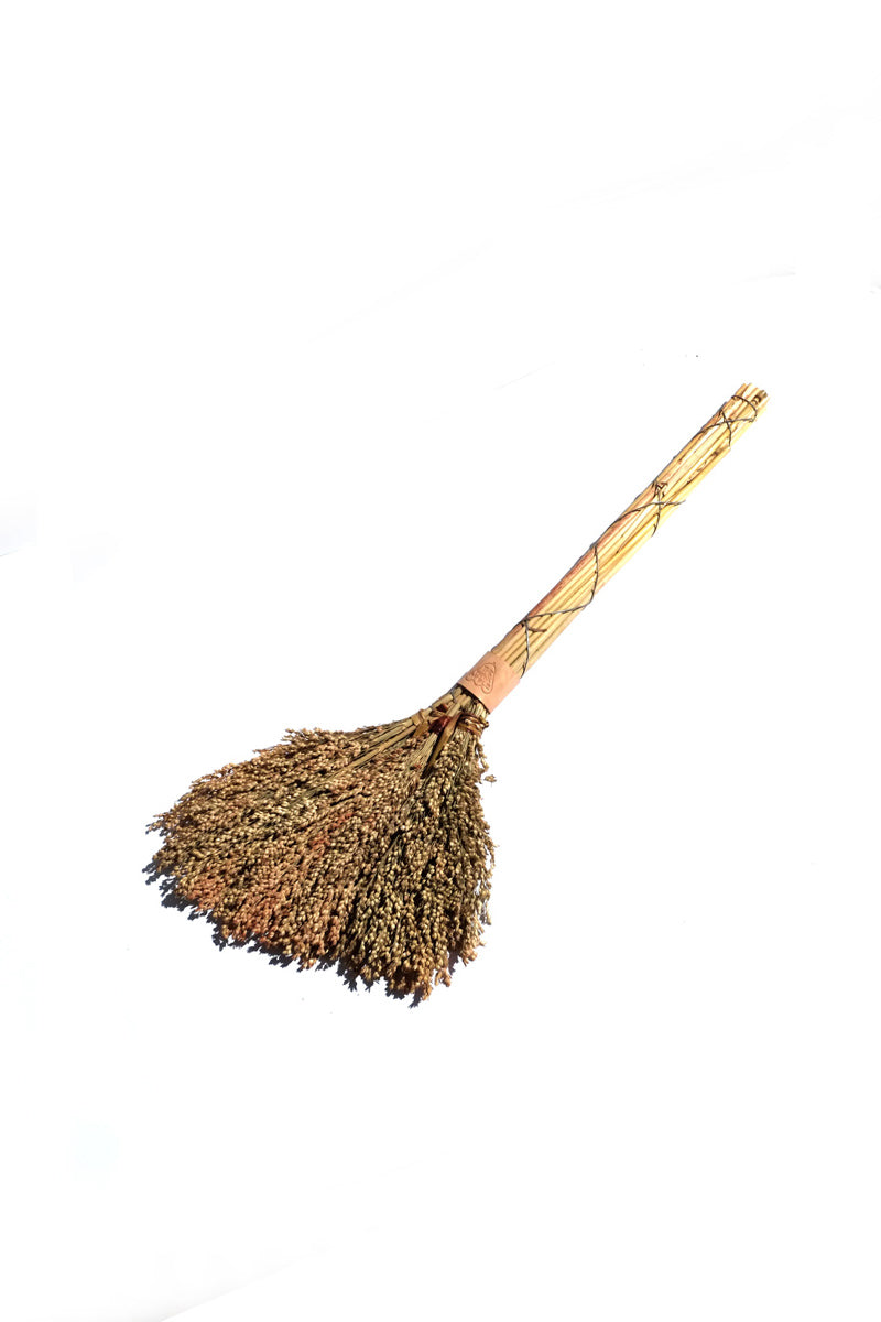 sorghum broom - small