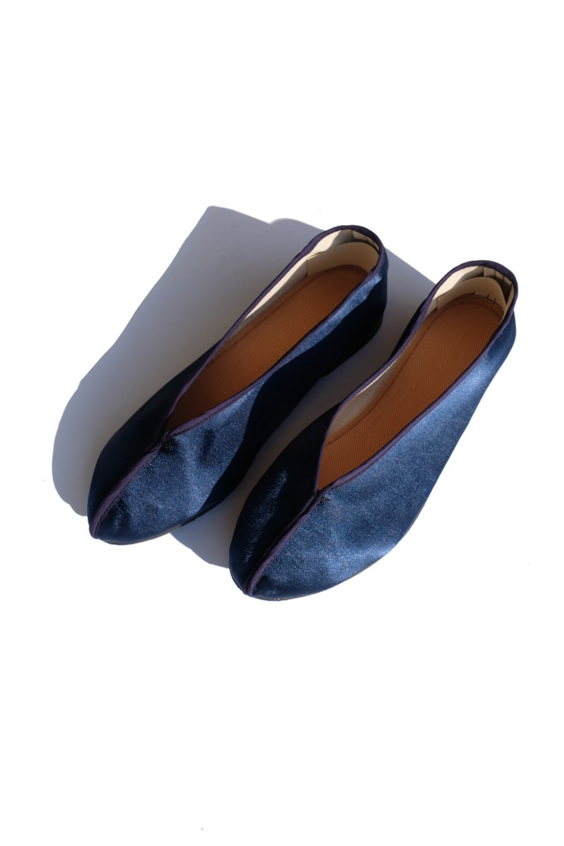 theater shoes - solid navy