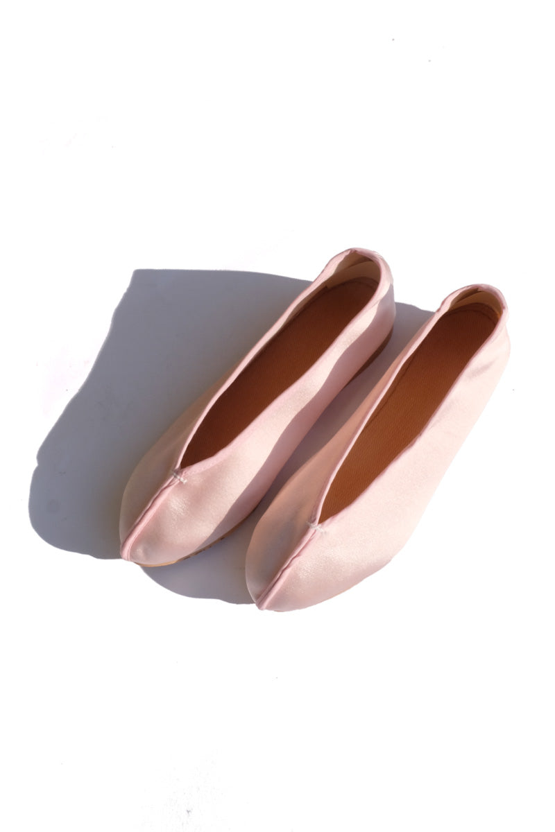 theater shoes - solid blush