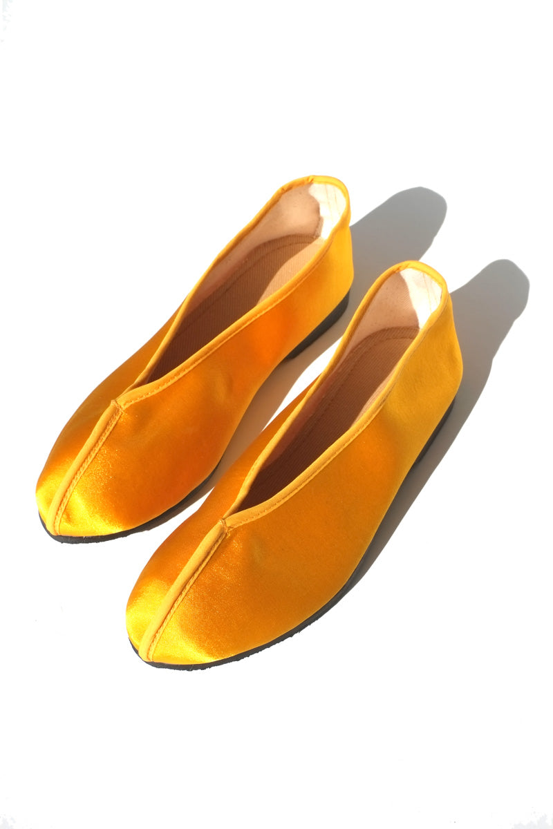 theater shoes - solid yellow