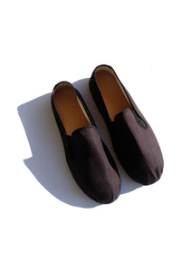men's slip on - black