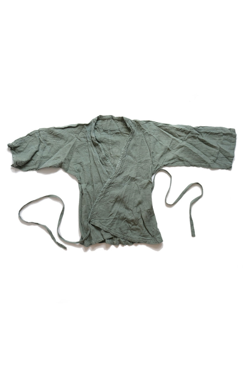 huichung - scrunch wrap shirt
