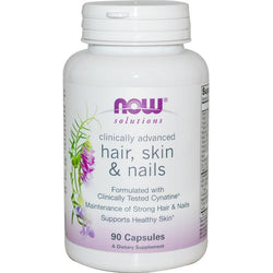 Now Foods, Hair, Skin & Nails, 90 Capsules