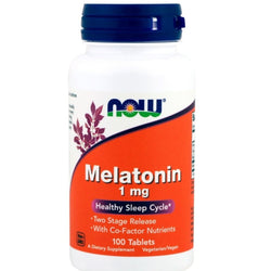 MELATONIN, 1 mg, 100 TABLETS