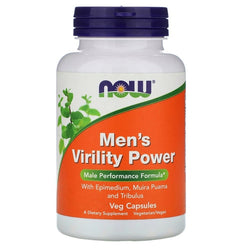 Now Foods, Men's Virility Power, 60 Veg Capsules
