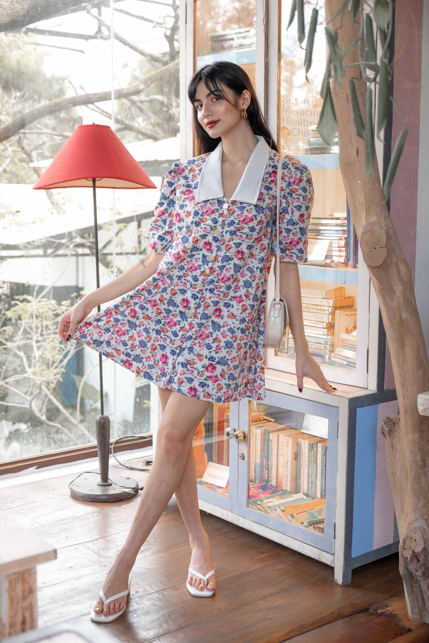 The Mindy Dress - floral