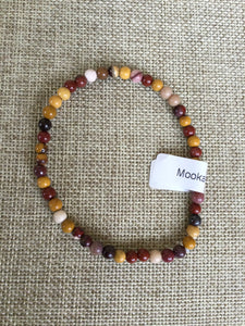 Mookaite Jasper: Power Mini Bracelet