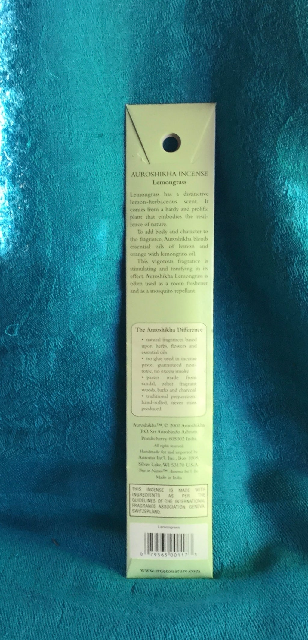 Auroshika Lemongrass Stick Incense