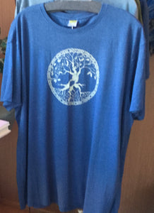 Naked Clothing Unisex Hemp and Organic Cotton Tee Shirt