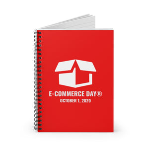 E-Commerce Day Spiral Notebook - Ruled Line (North America Shipping only)
