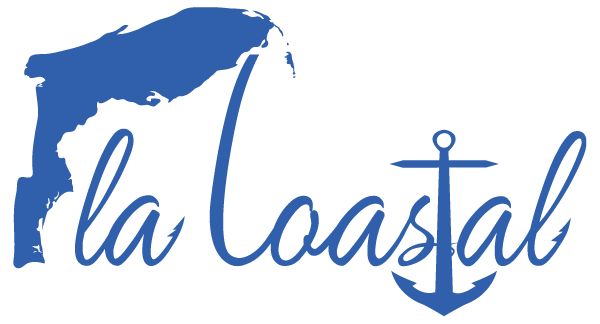Fla Coastal Blue Vinyl Decal - [flacoastal.com]