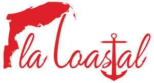flacoastal - Red Vinyl Decal