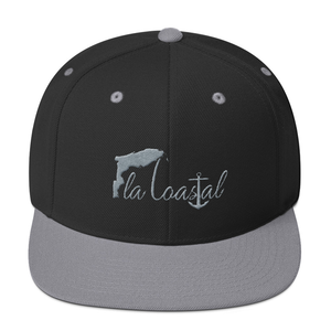 flacoastal - Fla Coastal Two-Tone Flat Bill Snap-Back