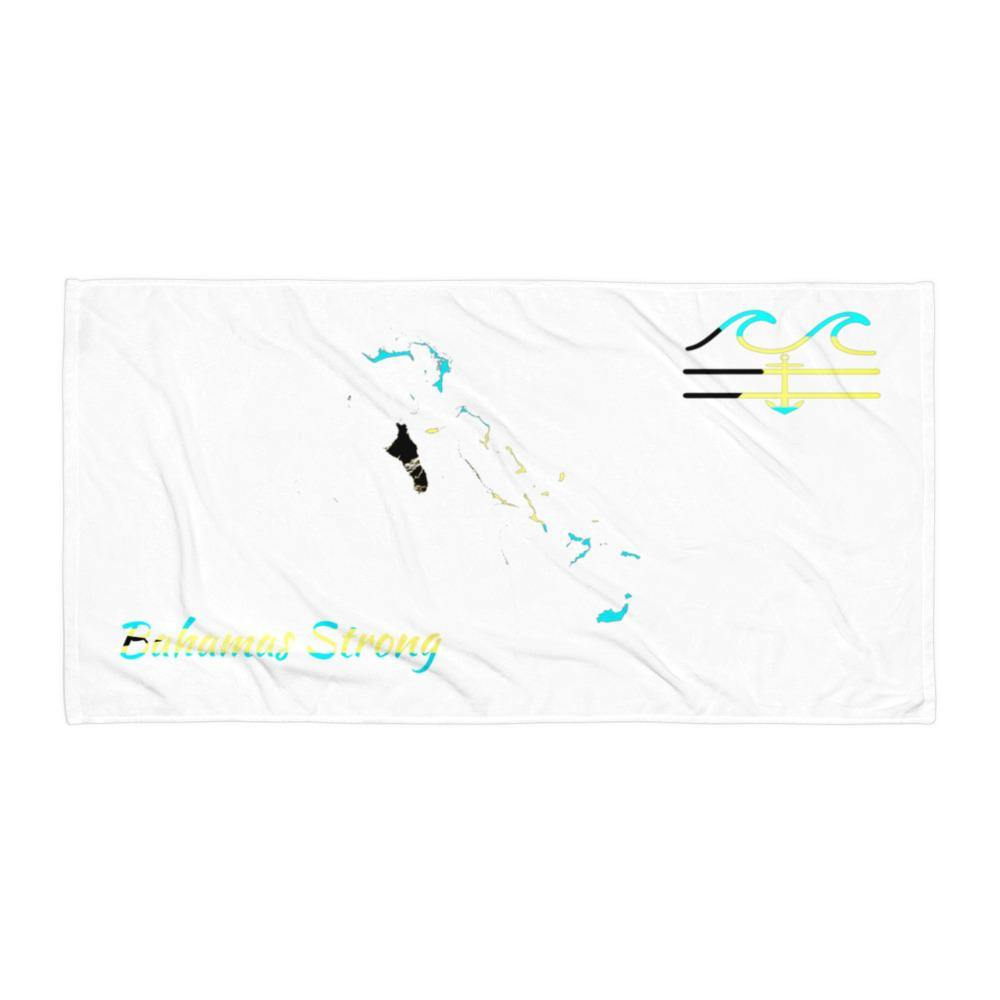 flacoastal - Coastal Crue Bahamas Strong Edition Beach Towel