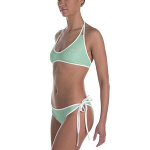flacoastal - Fla Coastal Mint Striped Reversible Bikini