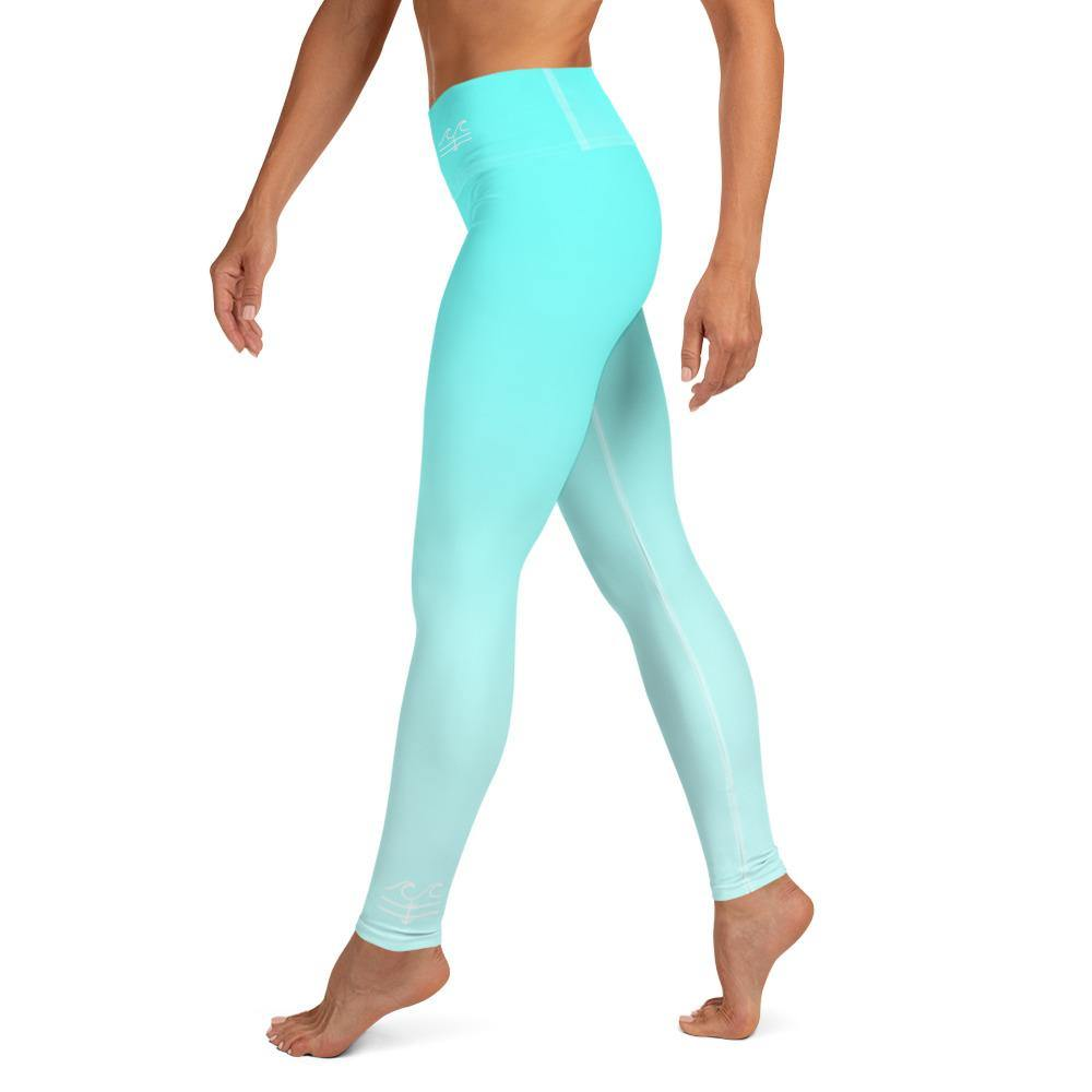 flacoastal - Aqua Horizon Performance Leggings