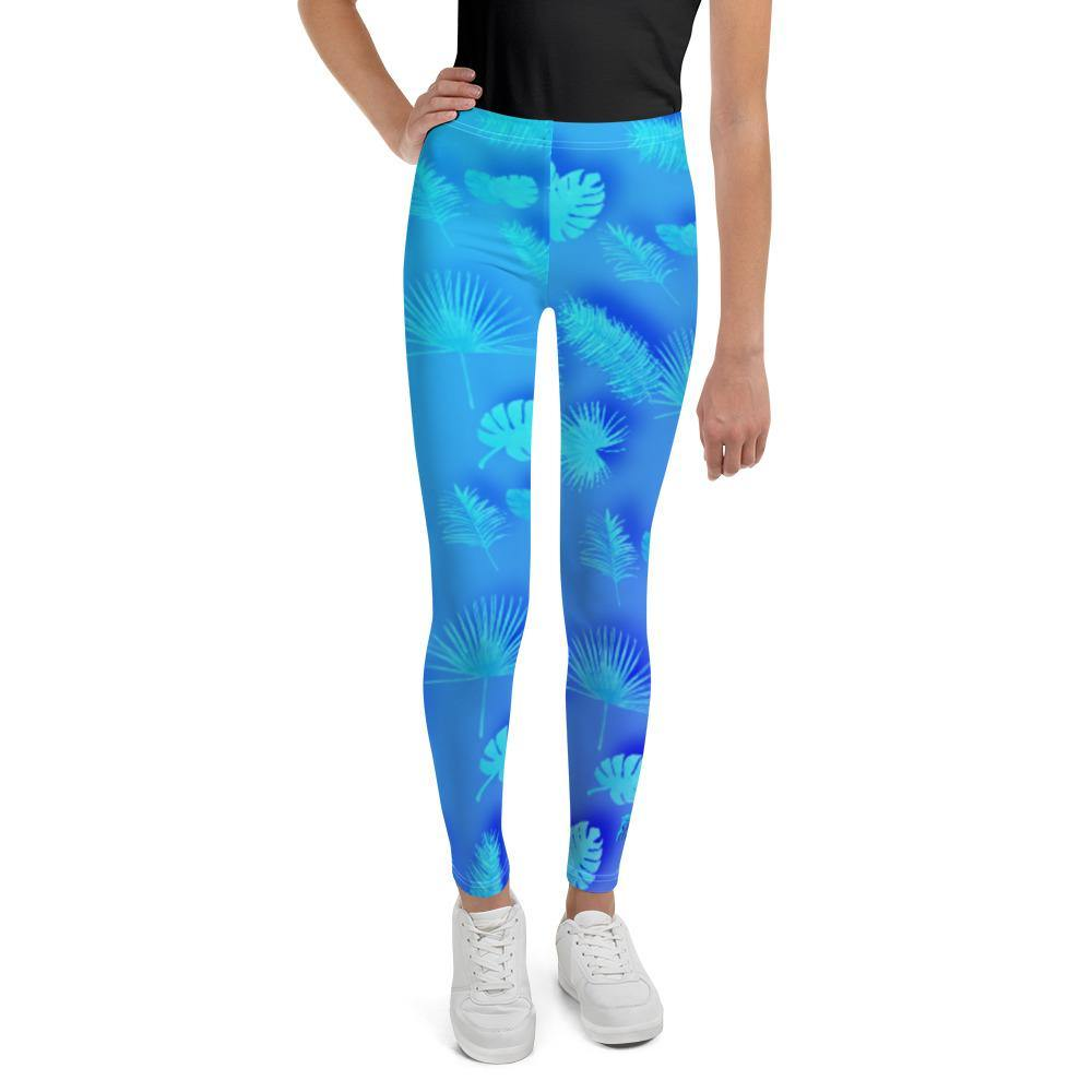 flacoastal - Frond Frenzy Youth Leggings