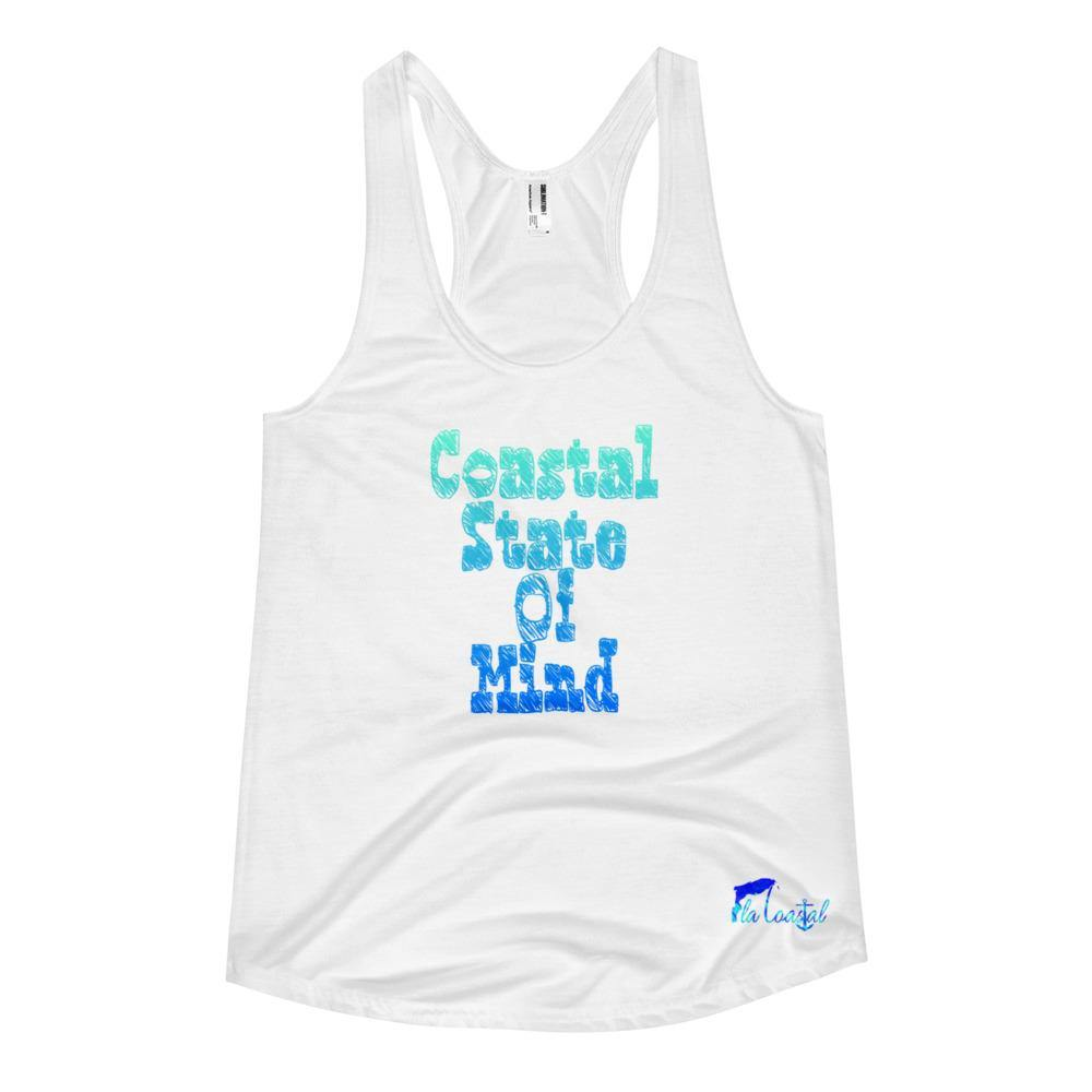 Fla Coastal State Of Mind Racerback Tank