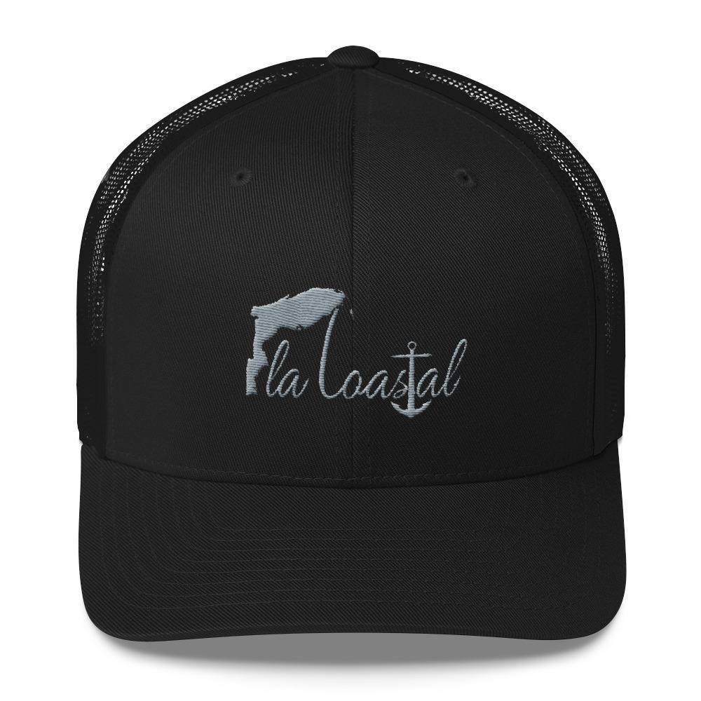 Fla Coastal Retro Trucker Hat