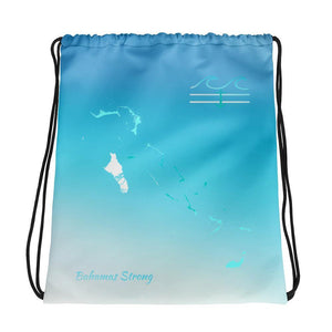 flacoastal - Bahama Isles Edition Drawstring Bag