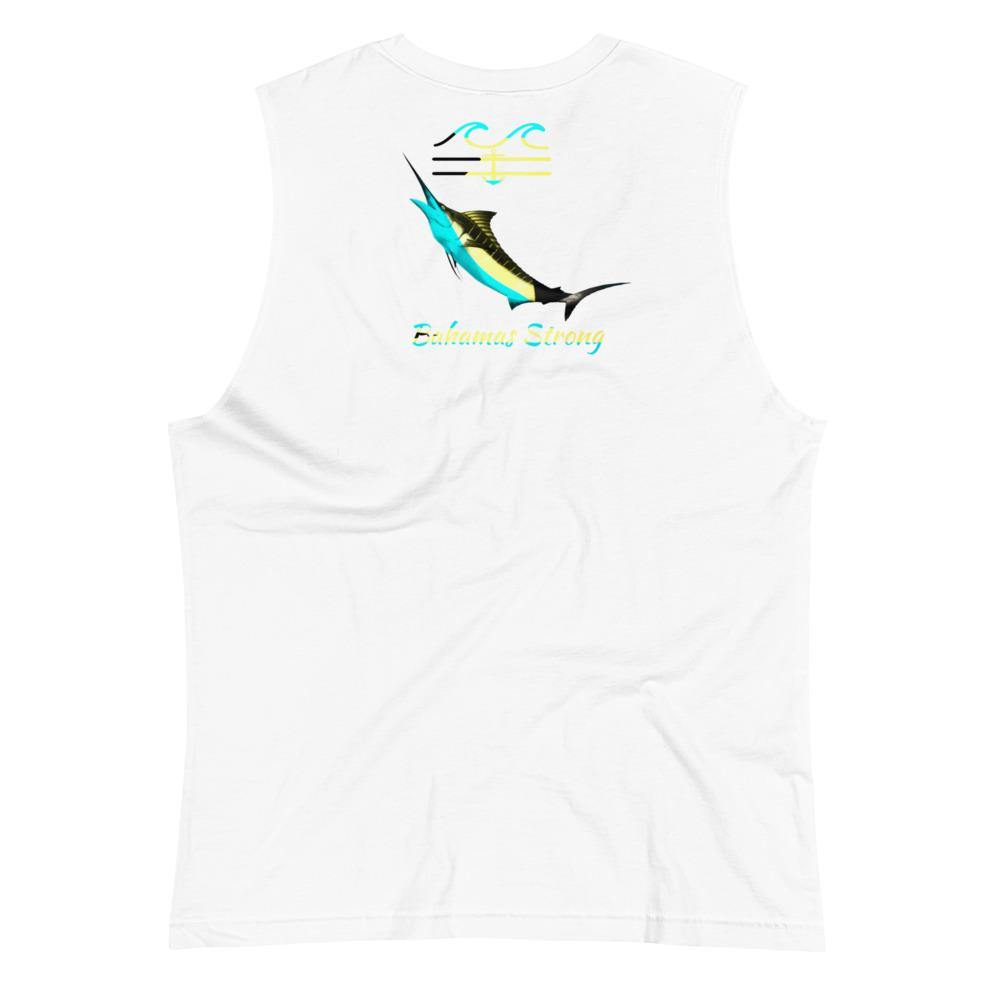 flacoastal - Bahamas Strong Marlin Edition Muscle Shirt