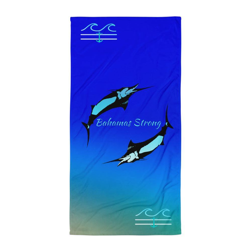 flacoastal - Bahamas Strong Edition Towel
