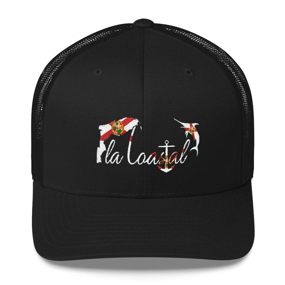 flacoastal - Fla Coastal Florida Pride Marlin Edition Trucker Hat