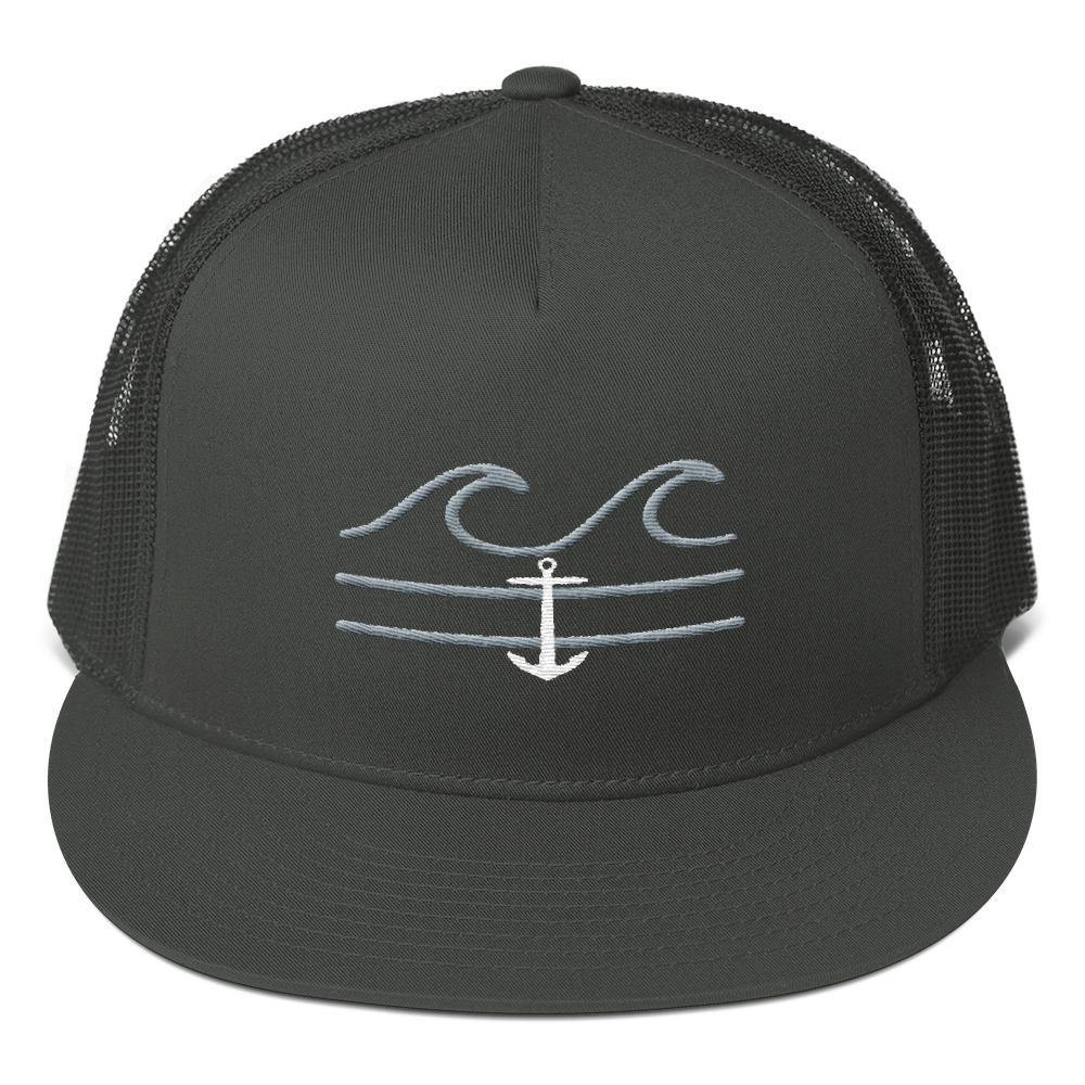 flacoastal - Coastal Crue Flat Bill Trucker