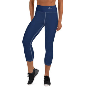flacoastal - Nauti Blue Performance Leggings