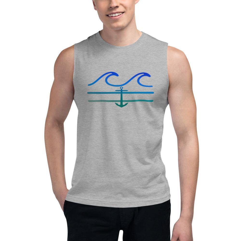 flacoastal - Coastal Crue Muscle Shirt