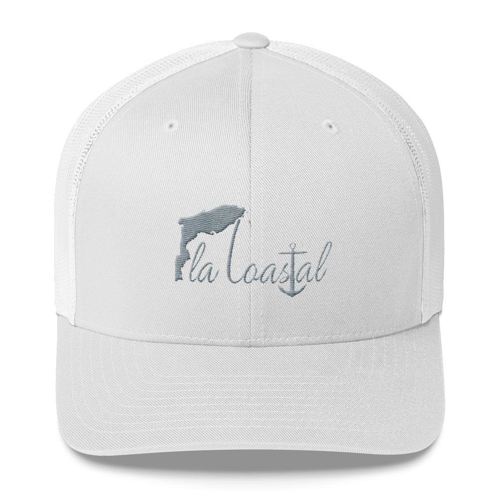 flacoastal - Fla Coastal Retro Trucker Hat
