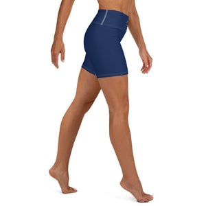 Coastal Crue Nauti Blue Yoga Shorts