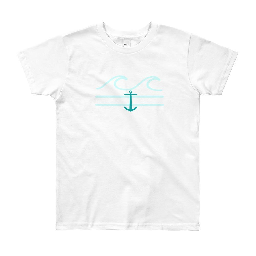 flacoastal - Coastal Crue Youth Short Sleeve T-Shirt (8 - 12 years old)