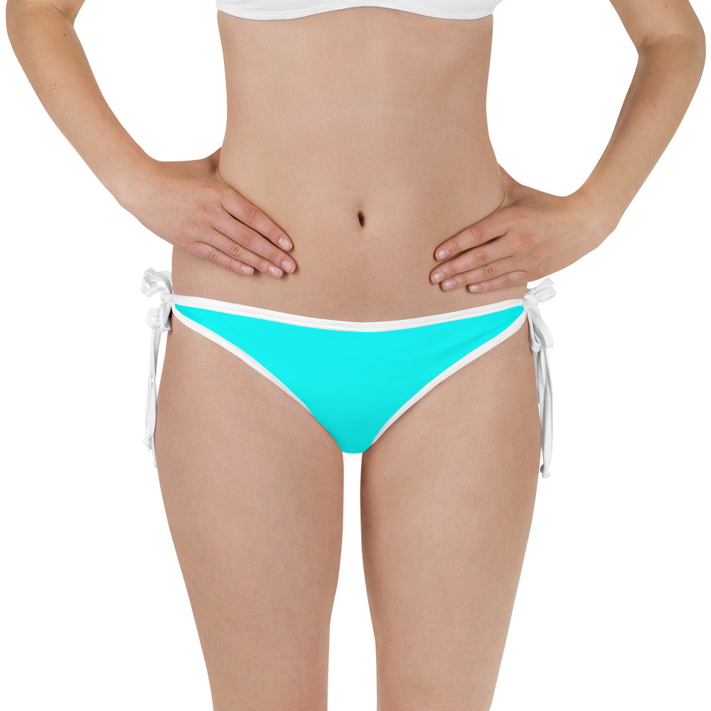 Fla Coastal Tropical Vibes Reversible Bikini Bottom - [flacoastal.com]