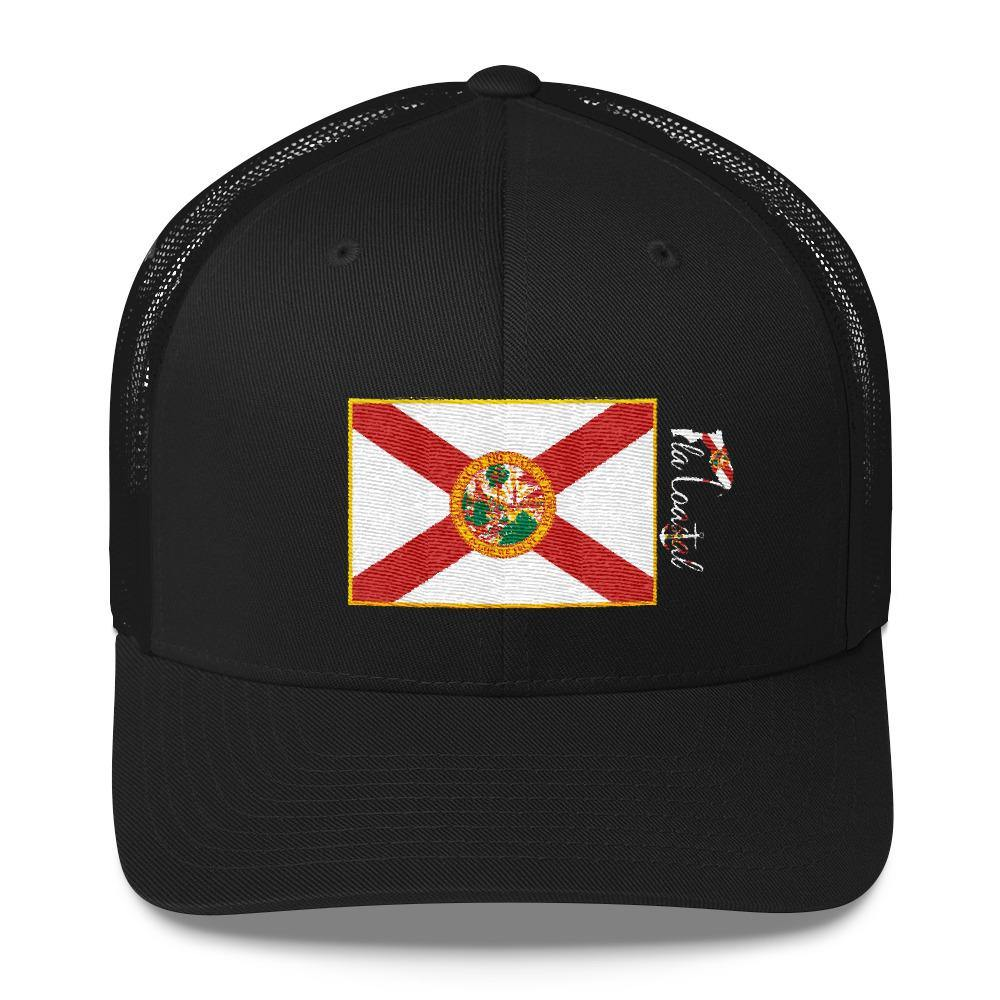 flacoastal - Fla Coastal Florida Pride Retro Trucker