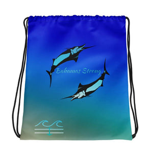 flacoastal - Bahamas Strong Edition Drawstring Bag