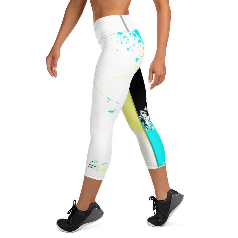 flacoastal - Bahama Splash Edition Capri Leggings