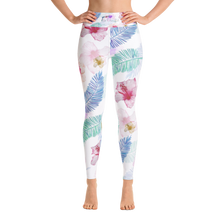 Load image into Gallery viewer, Tropical Vibes Full Length Yoga Leggings