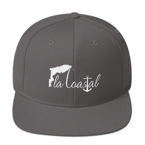Fla Coastal Flat Bill Snap-Back