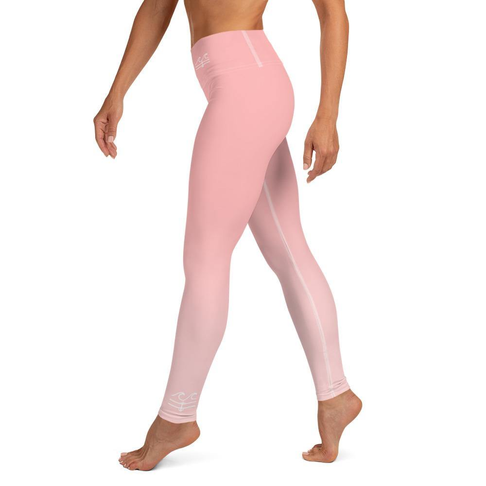 flacoastal - Posh Pink Performance Leggings