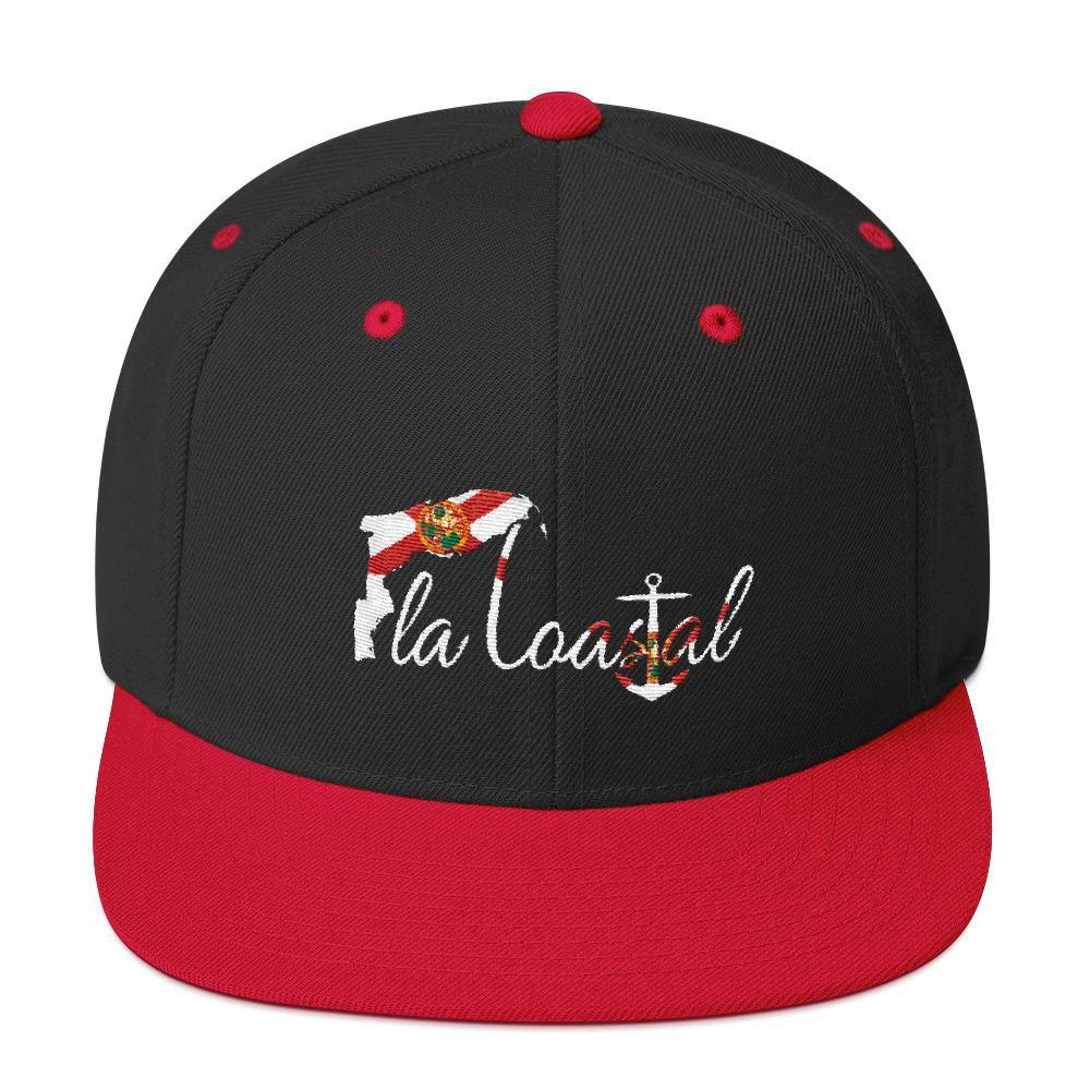 Fla Coastal Florida Pride Flat Bill Snap Back