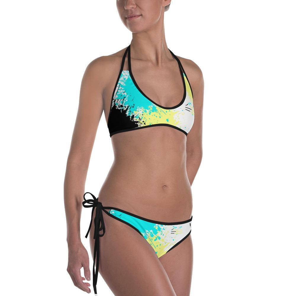 flacoastal - Coastal Crue Bahama Splash Edition Reversible Bikini