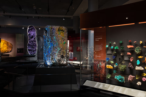 The American Museum of Natural History Hall of Minerals