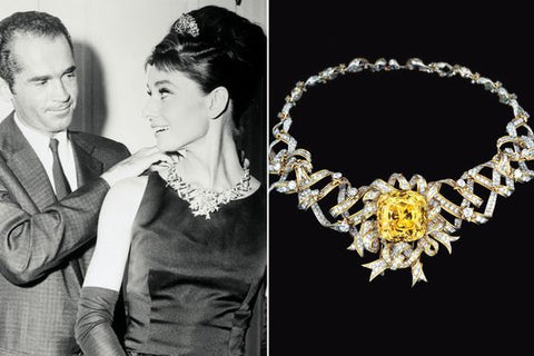 Audrey Hepburn in the Tiffany Diamond 1961