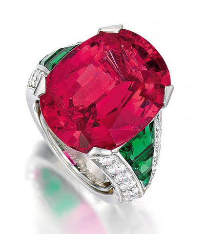 Cartier Pink Spinel Ring