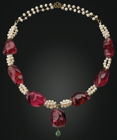 Antique Imperial Spinel Necklace