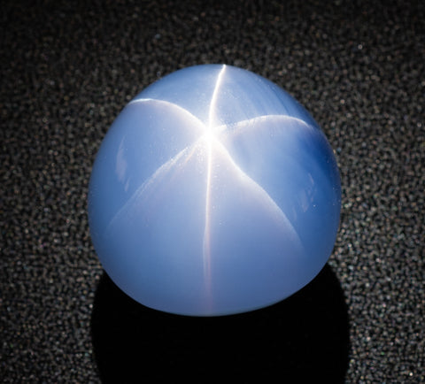 The 563-carat Star of Indiais the world's largest gem-quality blue star sapphire.